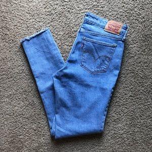 Levi's 711 high waisted jeans